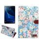 Фирменный чехол-обложка с подставкой и визитницей для Samsung Galaxy Tab A 10.1 2016  SM-T580 / T585C / T585N