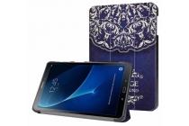 """Фирменный необычный чехол для Samsung Galaxy Tab A 10.1 2016  SM-T580 / T585C / T585N """"тематика книга в Винтажном стиле"""""""