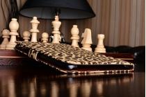Чехол- защитный кожух для Samsung Galaxy Tab A 8.0 SM-T350/T351/T355 леопардовый коричневый