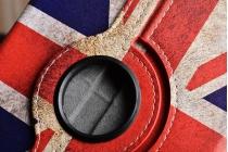 "Фирменный чехол роторный для Samsung Galaxy Tab A 8.0 SM-T350/T351/T355 ""тематика ретро Британский флаг"""