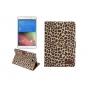 Чехол- защитный кожух для Samsung Galaxy Tab A 8.0 SM-T350/T351/T355 леопардовый коричневый..
