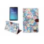Фирменный чехол-обложка с подставкой и визитницей для Samsung Galaxy Tab E 9.6 SM-T560N/T561N/T565N