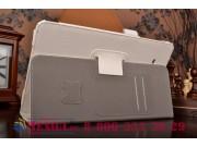 Фирменный чехол бизнес класса для Samsung Galaxy Tab E 9.6 SM-T560N/T561N/T565N с визитницей и держателем для ..