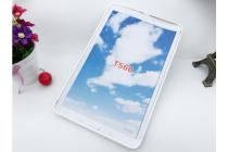 """Фирменная ультра-тонкая полимерная из мягкого качественного силикона задняя панель-чехол-накладка для Samsung Galaxy Tab E 9.6 SM-T560N/T561N/T565N"""" белая"""