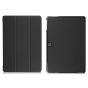 """Фирменный умный тонкий чехол для Samsung Galaxy Tab Pro S 12.2 SM-W700 / W703 / W707  """"Il Sottile"""" черный пластиковый"""