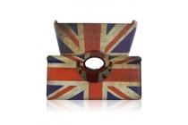 "Фирменный чехол для Samsung Galaxy Tab S 10.5 с поворотным механизмом тематика ""Британский флаг"""