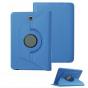 Чехол для планшета Samsung Galaxy Tab S2 8.0 SM-T710/T715 поворотный роторный оборотный голубой кожаный..