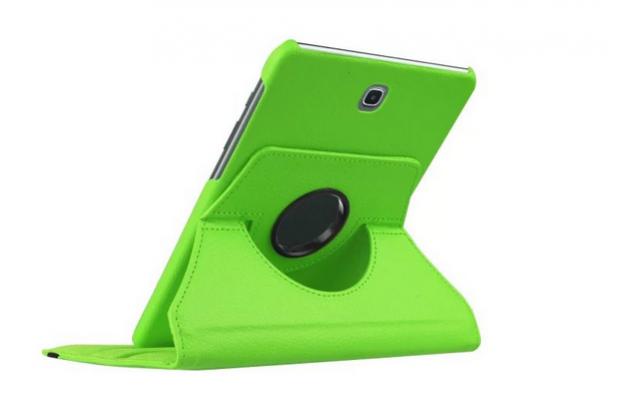 Чехол для Samsung Galaxy Tab S2 8.0 SM-T710/T715 поворотный роторный оборотный зеленый кожаный