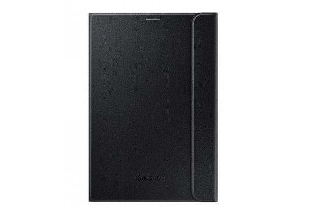 """Чехол с логотипом для Samsung Galaxy Tab S2 8.0 SM-T710/T715 с дизайном """"Book Cover"""" черный"""