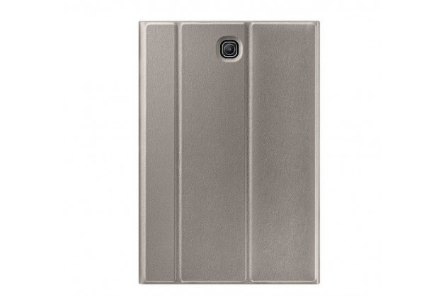 """Чехол с логотипом для Samsung Galaxy Tab S2 8.0 SM-T710/T715 с дизайном """"Book Cover"""" бронзовый"""