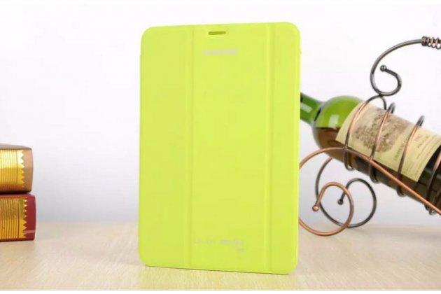Фирменный оригинальный чехол с логотипом для Samsung Galaxy Tab S2 8.0 SM-T710/T715 Simple Cover зелёный