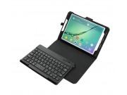 Фирменный оригинальный чехол со съёмной Bluetooth-клавиатурой для Samsung Galaxy Tab S2 8.0 SM-T710/T715 черны..