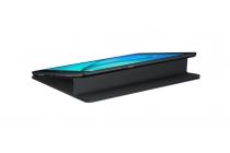 """Чехол с логотипом для Samsung Galaxy Tab A 9.7 SM-T550/T555 с дизайном """"Book Cover"""" черный"""