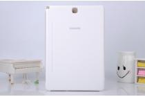 Фирменный оригинальный чехол с логотипом для Samsung Galaxy Tab A 9.7 SM-T550/T555 Simple Cover белый