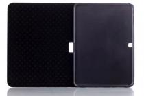 """Чехол-футляр для Samsung Galaxy Tab 4 10.1 SM-T530/T531/T535/T533 """"тематика Тауэрский мост Англия"""" кожаный"""