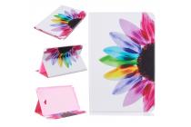 Фирменный необычный чехол для Samsung Galaxy Tab A 10.1 2016 SM-P580/P585 S-Pen тематика Цветик Семицветик
