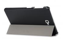 Фирменный умный чехол самый тонкий в мире для Samsung Galaxy Tab A 10.1 2016 SM-P580/P585 S-Pen iL Sottile черный пластиковый Италия