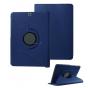 Чехол для планшета Samsung Galaxy Tab S2 9.7 SM-T810/T815 поворотный роторный оборотный синий кожаный..