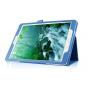 Чехол для Samsung Galaxy Tab S2 8.0 SM-T710/T715 синий кожаный..