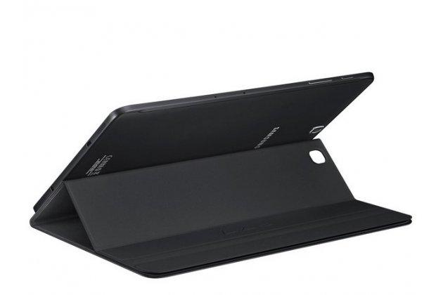 """Чехол с логотипом для Samsung Galaxy Tab S2 9.7 SM-T810/T815 с дизайном """"Book Cover"""" черный"""