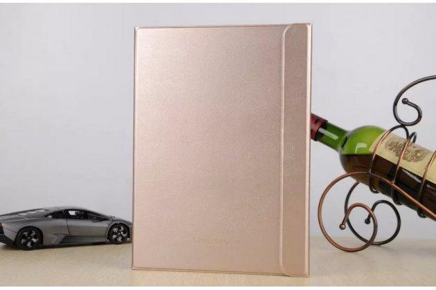 """Чехол с логотипом для Samsung Galaxy Tab S2 9.7 SM-T810/T815 с дизайном """"Book Cover"""" золотой"""
