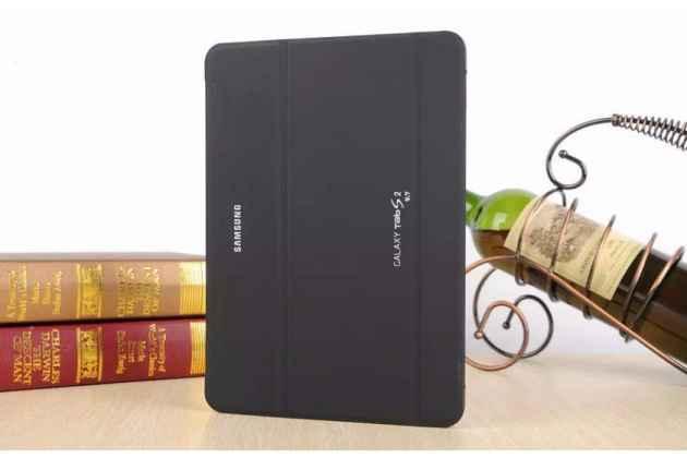 Фирменный оригинальный чехол с логотипом для Samsung Galaxy Tab S2 9.7 SM-T810/T815 Simple Cover черный