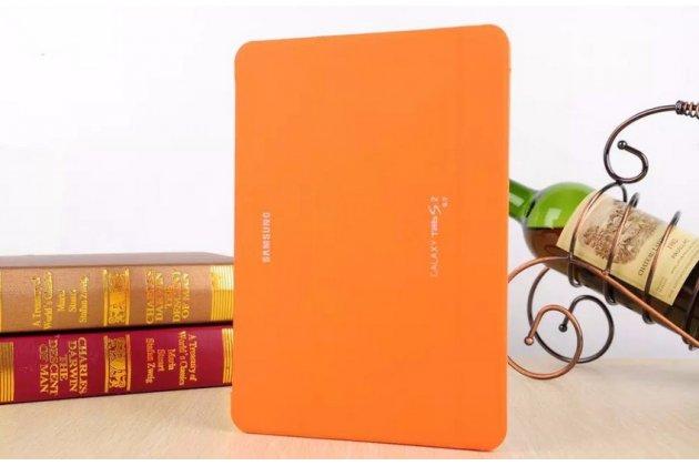 Фирменный оригинальный чехол с логотипом для Samsung Galaxy Tab S2 9.7 SM-T810/T815 Simple Cover оранжевый