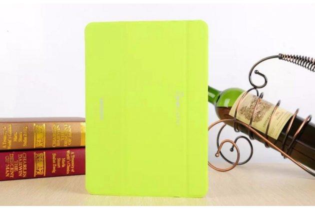 Фирменный оригинальный чехол с логотипом для Samsung Galaxy Tab S2 9.7 SM-T810/T815 Simple Cover зелёный