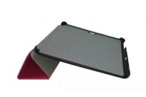 """Фирменный умный чехол-книжка самый тонкий в мире для Samsung Galaxy Tab S2 9.7 SM-T810/T815 """"Il Sottile"""" фиолетовый кожаный"""