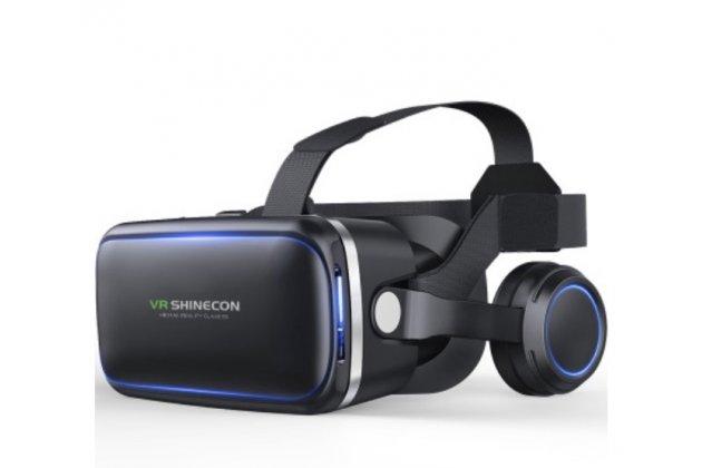 """Фирменный оригинальный Шлем Виртуальной Реальности/ 3D- очки/ VR- шлем VR Shinacon Virtual Reality 3D Glasses для телефонов 3.5""""-6.0"""" дюймов"""
