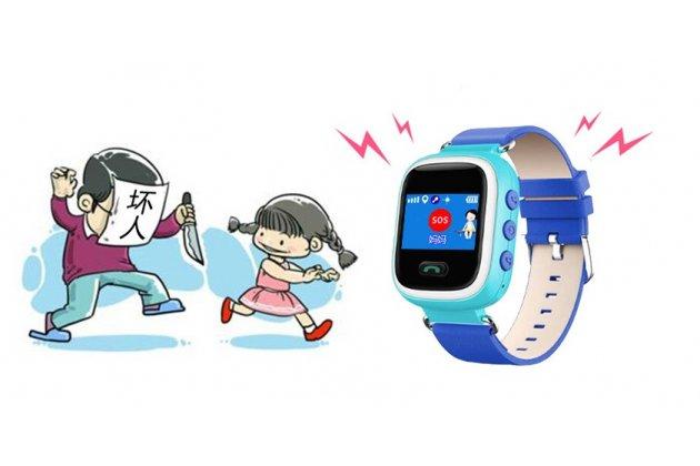 Детские умные часы (смарт-часы) Smart Baby Watch Q60 с GPS трекером  + гарантия ( БЕЗ ДАТЧИКА)