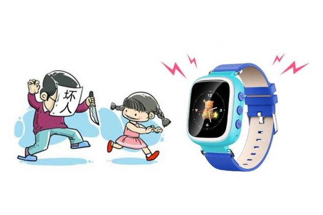 Детские умные часы (смарт-часы) Smart Baby Watch Q80 с GPS трекером + гарантия ( на английском языке)