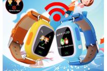 Детские часы с телефоном и GPS трекером Smart Baby Watch Q90 + гарантия