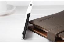 Фирменная задняя панель-крышка-накладка из тончайшего и прочного пластика для Sony Xperia C S39h / C2304 / C2305 белая
