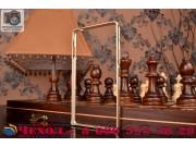 Фирменный оригинальный ультра-тонкий чехол-бампер для Sony Xperia C4/ C4 Dual E5303 / E5333 золотой  металличе..