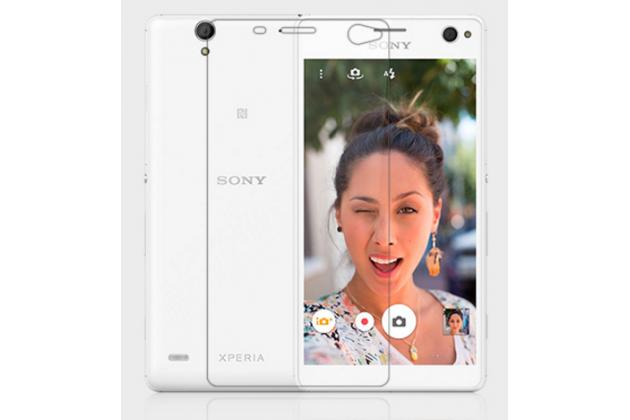 Фирменная оригинальная защитная пленка для телефона Sony Xperia C4/ C4 Dual матовая