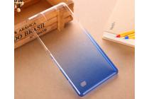 Фирменная ультра-тонкая полимерная задняя панель-чехол-накладка из силикона для Sony Xperia C4/ C4 Dual прозрачная с эффектом дождя