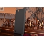 Фирменная задняя панель-крышка-накладка из тончайшего и прочного пластика для  Sony Xperia C4/ C4 Dual  черная..