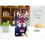 Фирменная необычная из легчайшего и тончайшего пластика задняя панель-чехол-накладка для Sony Xperia C4/ C4 Du..