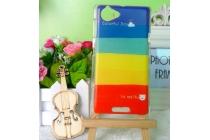 """Фирменная необычная уникальная пластиковая задняя панель-чехол-накладка для Sony Xperia L (C2105) """"тематика краски"""""""
