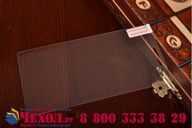 Фирменное защитное закалённое противоударное стекло премиум-класса из качественного японского материала с олеофобным покрытием для Sony Xperia M2 Dual D2302/ M2 Aqua D2403
