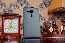 Фирменный вертикальный откидной чехол-флип для Sony Xperia SP M35h (C5302) черный кожаный