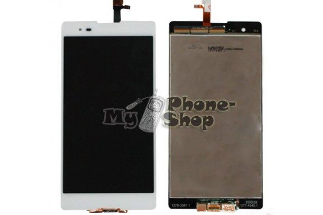 Фирменный LCD-ЖК-сенсорный дисплей-экран-стекло с тачскрином на телефон Sony Xperia T2 Ultra/ T2 Ultra Dual D5303/D5322 белый + гарантия