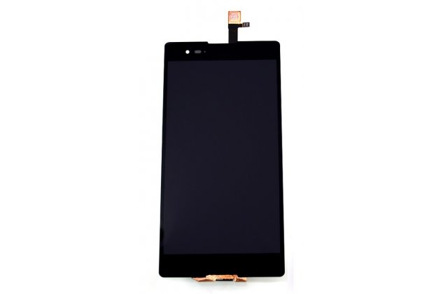 Фирменный LCD-ЖК-сенсорный дисплей-экран-стекло с тачскрином на телефон Sony Xperia T2 Ultra/ T2 Ultra Dual D5303/D5322 черный + гарантия