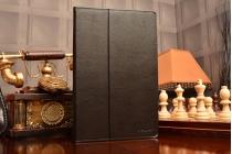 Фирменный чехол-сумка для Sony Xperia Tablet Z 2 SGP511/512/521 черный кожаный