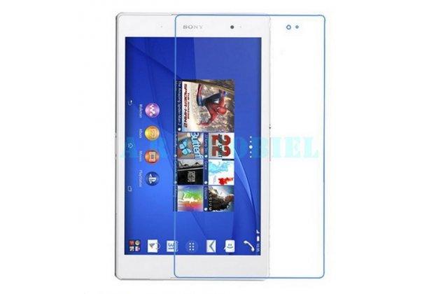 Фирменная оригинальная защитная пленка для планшета Sony Xperia Z3 Tablet Compact (SPG611/SGP621RU) глянцевая
