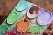 """Фирменная необычная уникальная из легчайшего и тончайшего пластика задняя панель-чехол-накладка для Sony Xperia V (LT25i)  """"тематика Краски"""""""