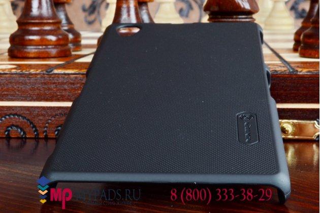 Фирменная задняя панель-крышка-накладка из тончайшего и прочного пластика для Samsung Z1 SM-Z130H черная