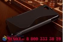 Фирменная ультра-тонкая полимерная из мягкого качественного силикона задняя панель-чехол-накладка для Sony Xperia Z1 Compact D5503 черная
