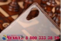 Фирменная ультра-тонкая пластиковая задняя панель-чехол-накладка для Sony Xperia Z2 (D6503) прозрачная